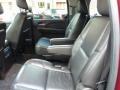 2011 Cadillac Escalade Ebony/Ebony Interior Rear Seat Photo
