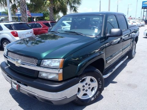2004 Chevrolet Silverado 1500 Z71 Crew Cab 4x4 Data, Info and Specs