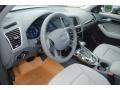 Steel Grey 2013 Audi Q5 Interiors