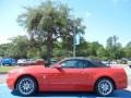 2014 Race Red Ford Mustang V6 Premium Convertible  photo #2