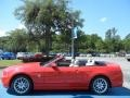 2014 Race Red Ford Mustang V6 Premium Convertible  photo #4