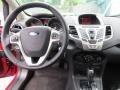 2013 Ruby Red Ford Fiesta SE Hatchback  photo #24