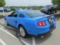 2011 Grabber Blue Ford Mustang V6 Premium Coupe  photo #8