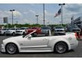 2007 Performance White Ford Mustang GT Premium Convertible  photo #4