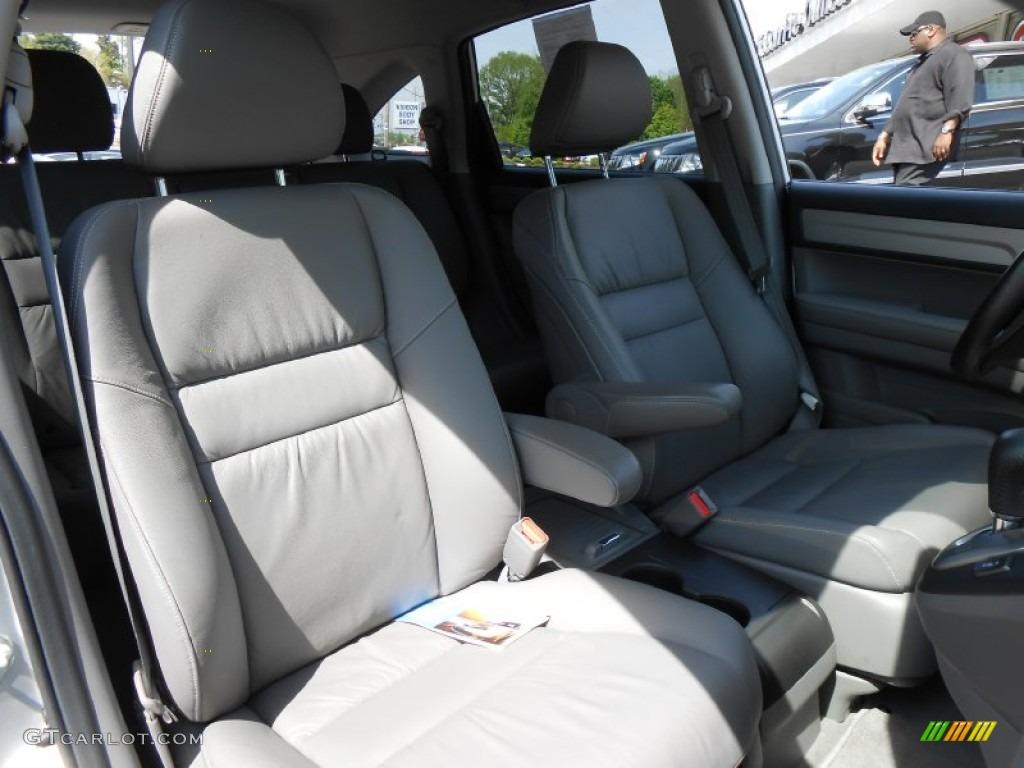 2010 CR-V EX-L AWD - Alabaster Silver Metallic / Gray photo #14