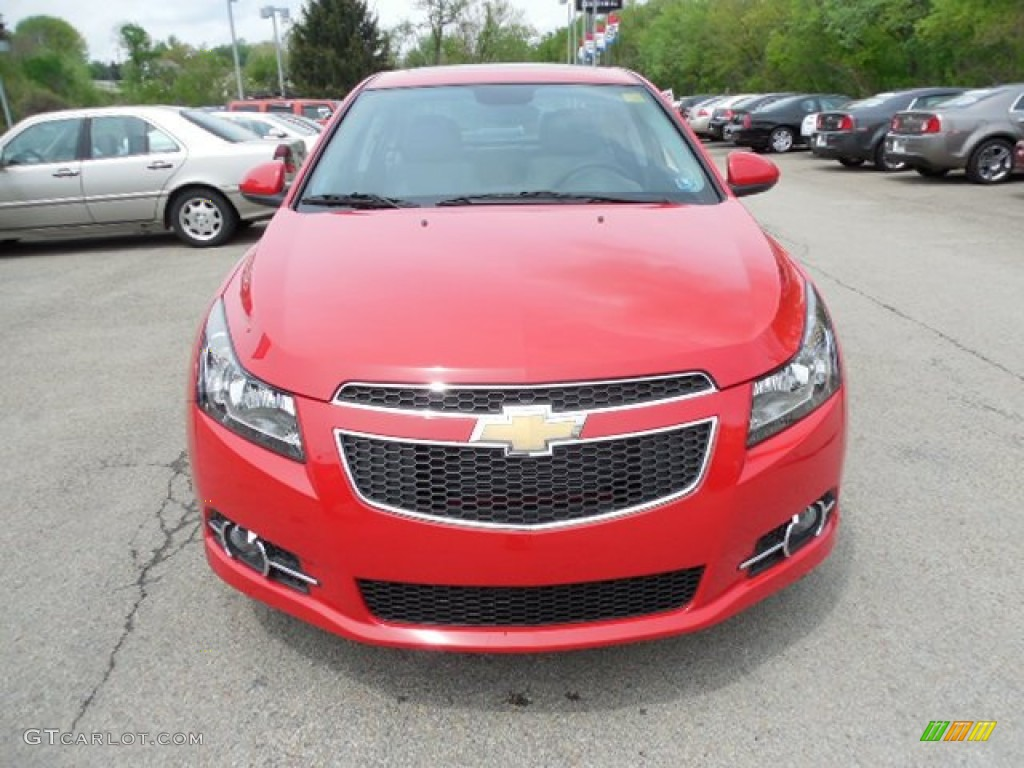 Victory Red 2013 Chevrolet Cruze Lt Rs Exterior Photo 80918916