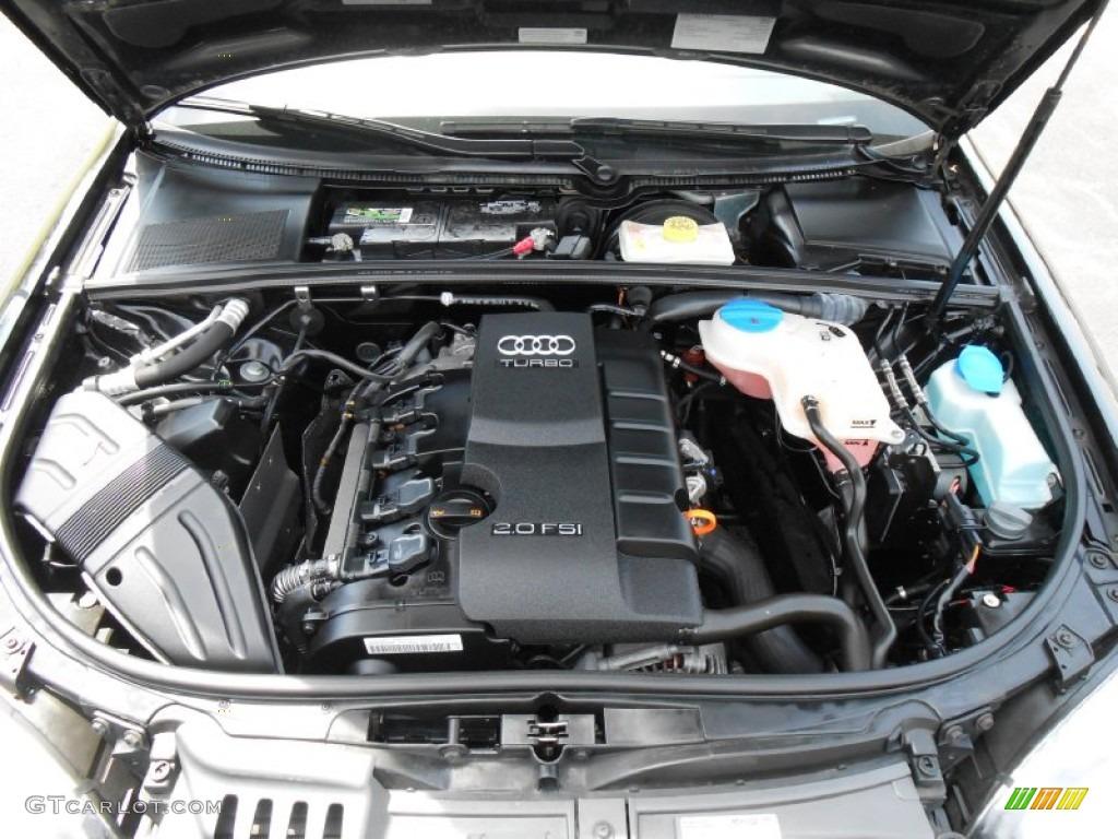 2008 audi a4 2 0t quattro sedan engine photos. Black Bedroom Furniture Sets. Home Design Ideas