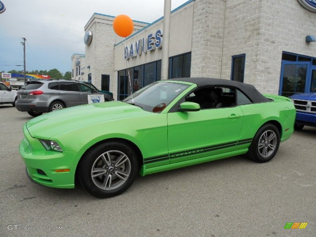 2013 Gotta Have It Green Ford Mustang V6 Premium