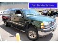 2002 Polo Green Metallic GMC Sierra 2500HD SLE Extended Cab 4x4 #80894780