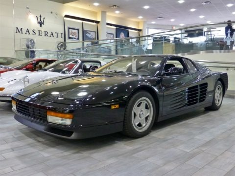 1987 ferrari testarossa data info and specs. Black Bedroom Furniture Sets. Home Design Ideas