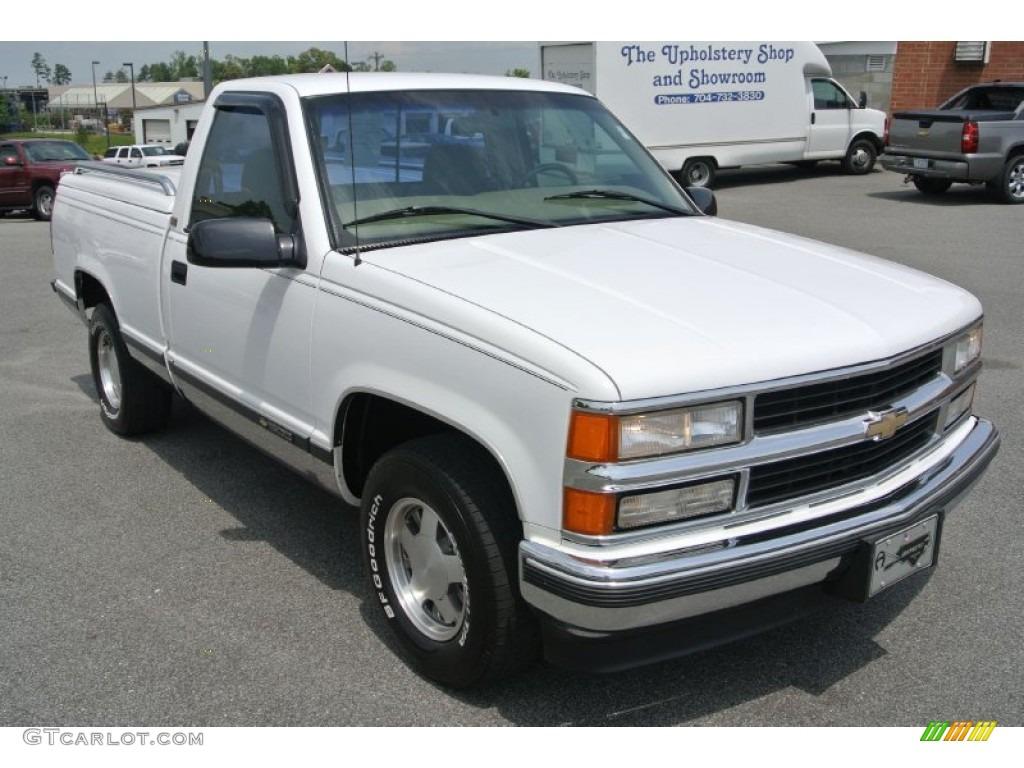 1997 olympic white chevrolet c k c1500 silverado regular cab 80948493 car. Black Bedroom Furniture Sets. Home Design Ideas