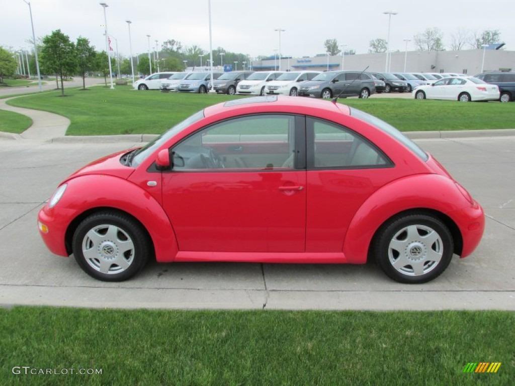 red uni 2000 volkswagen new beetle gls coupe exterior photo 80958619. Black Bedroom Furniture Sets. Home Design Ideas
