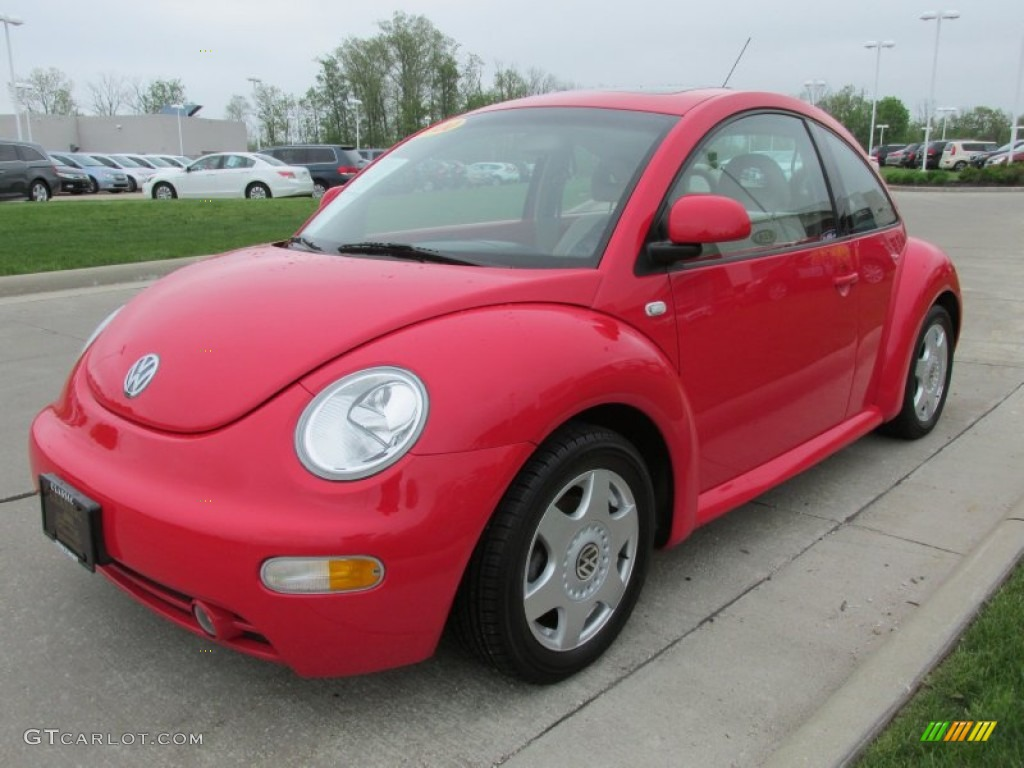 red uni 2000 volkswagen new beetle gls coupe exterior. Black Bedroom Furniture Sets. Home Design Ideas