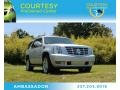 Silver Lining Metallic 2011 Cadillac Escalade Luxury