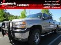 2002 Pewter Metallic GMC Sierra 2500HD SL Crew Cab #80970463
