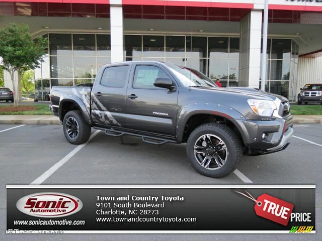 2013 tacoma xsp x double cab 4x4 magnetic gray metallic graphite photo