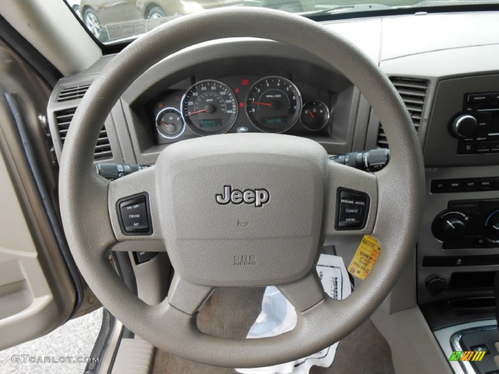 2008 Jeep Grand Cherokee Laredo >> 2006 Jeep Grand Cherokee Laredo 4x4 Khaki Steering Wheel ...