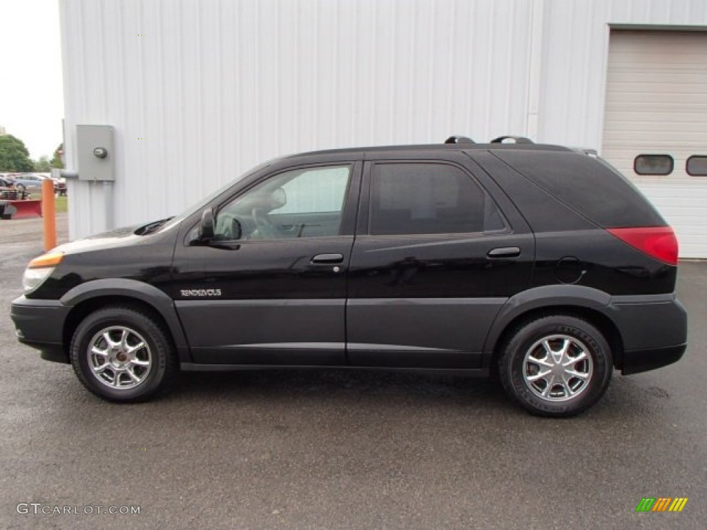 2002 black buick rendezvous cx awd 80970880 gtcarlot. Black Bedroom Furniture Sets. Home Design Ideas