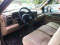 1999 Ford F250 Super Duty Medium Prairie Tan Interior Prime Interior Photo