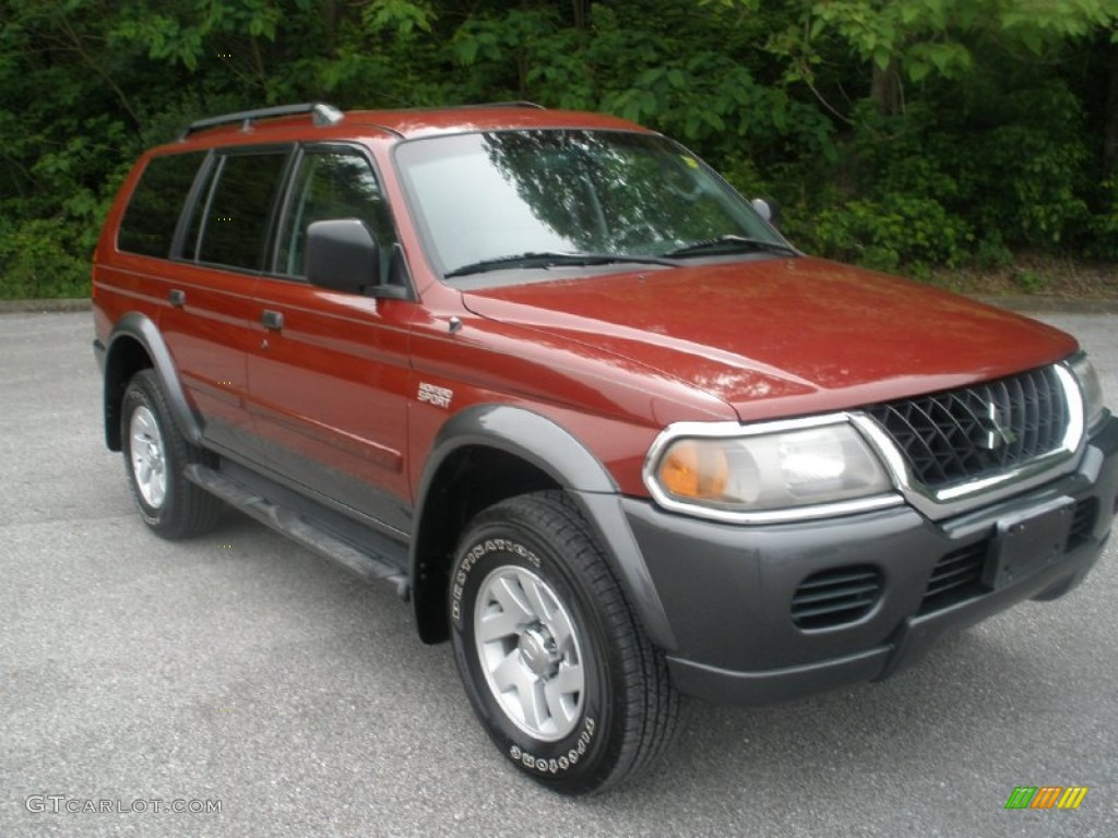 2003 Cambridge Red Pearl Mitsubishi Montero Sport Xls