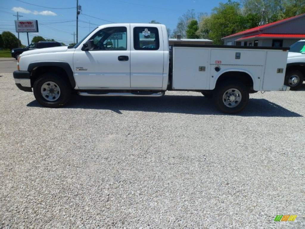 Summit White Chevrolet Silverado 3500