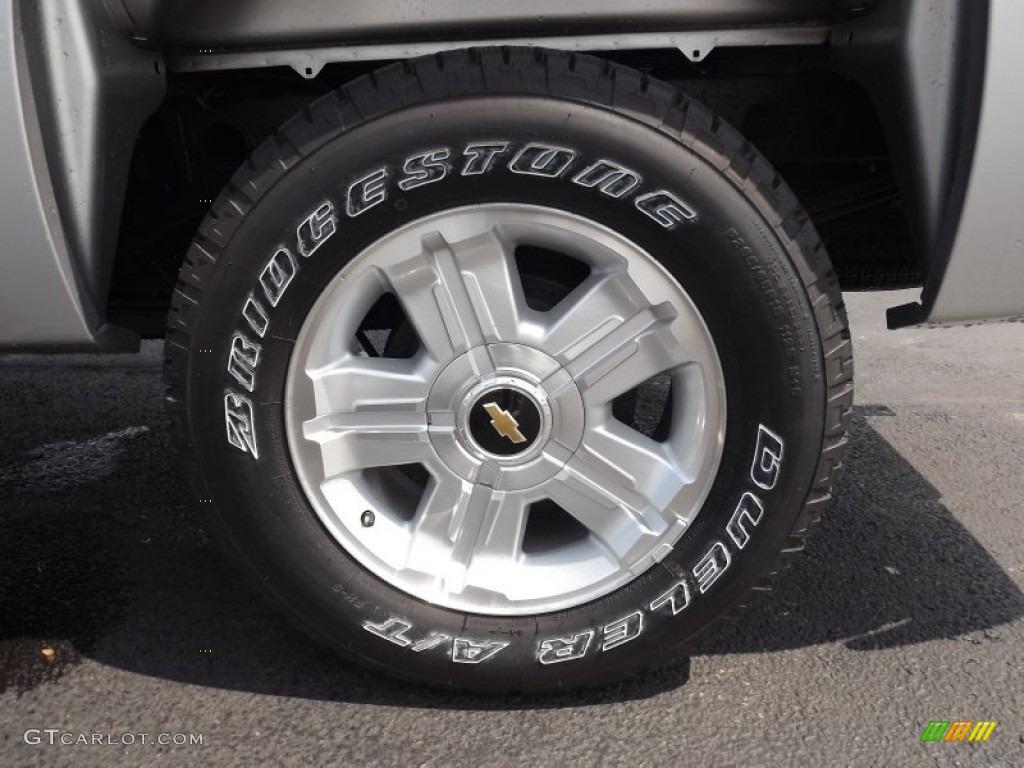 2013 Silverado 1500 LT Crew Cab 4x4 - Silver Ice Metallic / Light Titanium/Dark Titanium photo #19