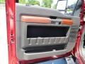 2013 Ford F250 Super Duty King Ranch Chaparral Leather/Adobe Trim Interior Door Panel Photo
