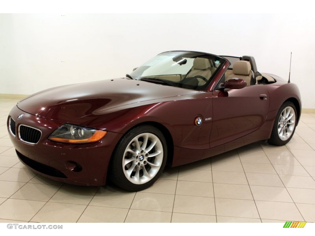 merlot red metallic 2003 bmw z4 roadster exterior photo 81016842. Black Bedroom Furniture Sets. Home Design Ideas
