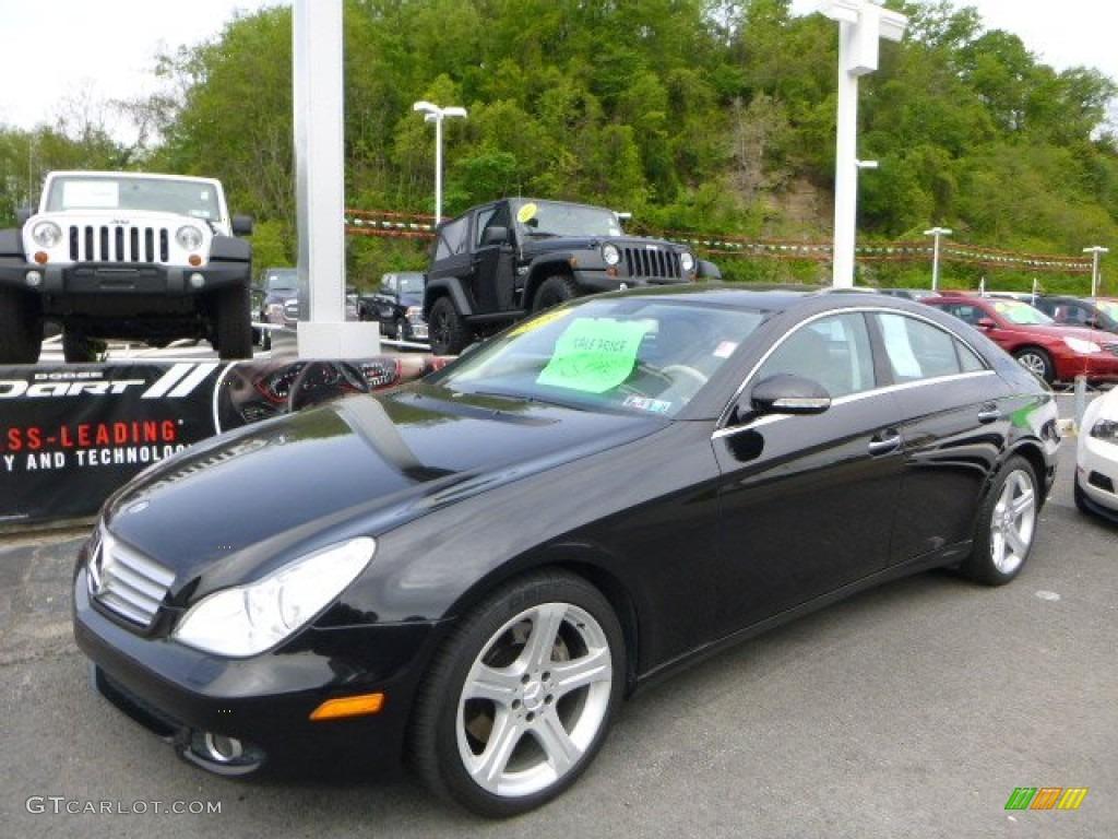 Black 2006 Mercedes Benz Cls 500 Exterior Photo 81020722 Gtcarlot Com