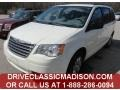 Stone White 2010 Chrysler Town & Country LX