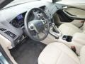 2012 Frosted Glass Metallic Ford Focus SEL Sedan  photo #12