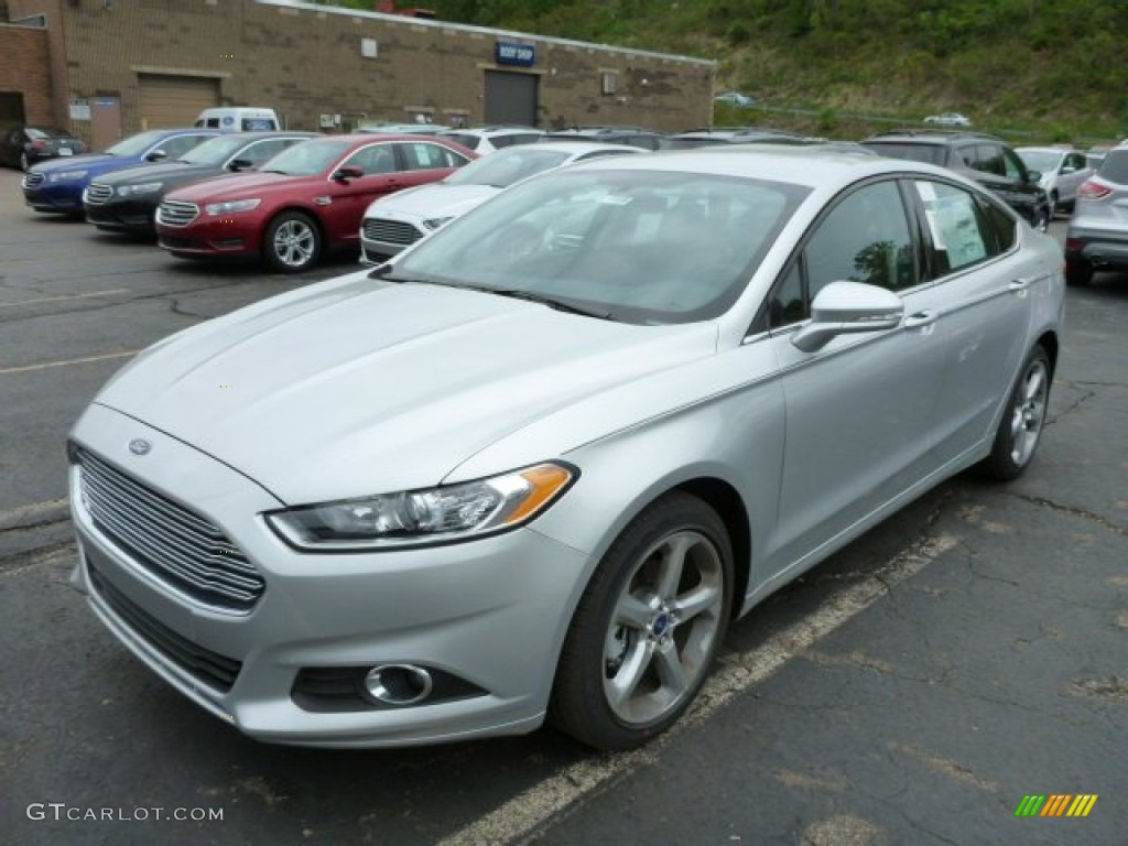 Ingot Silver Metallic 2013 Ford Fusion Se 1 6 Ecoboost Exterior Photo 81037388
