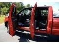 2012 Vermillion Red Ford F250 Super Duty Lariat Crew Cab 4x4  photo #11