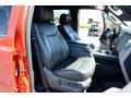 2012 Vermillion Red Ford F250 Super Duty Lariat Crew Cab 4x4  photo #19