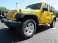 Detonator Yellow 2011 Jeep Wrangler Unlimited Gallery