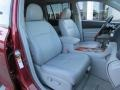 Ash Front Seat Photo for 2010 Toyota Highlander #81049620