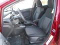 2013 Ruby Red Ford Fiesta SE Sedan  photo #21