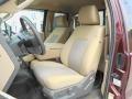 2011 Ford F250 Super Duty Adobe Beige Interior Front Seat Photo