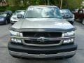 2003 Light Pewter Metallic Chevrolet Silverado 3500 LS Extended Cab 4x4 Dually  photo #14
