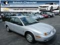 Light Silver 2000 Saturn S Series SW2 Wagon