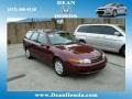 2001 Dark Red Saturn L Series LW200 Wagon #81011780