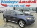 Deep Blue Metallic 2009 Mitsubishi Outlander SE 4WD