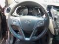 Beige Steering Wheel Photo for 2013 Hyundai Santa Fe #81098558
