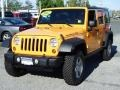 2012 Dozer Yellow Jeep Wrangler Unlimited Rubicon 4x4 #81075611