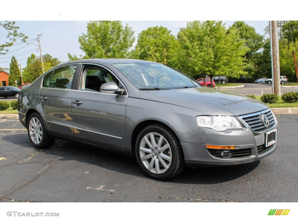 united grey metallic 2006 volkswagen passat 3 6 sedan. Black Bedroom Furniture Sets. Home Design Ideas