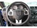 Dark Slate Gray Steering Wheel Photo for 2012 Dodge Challenger #81101489