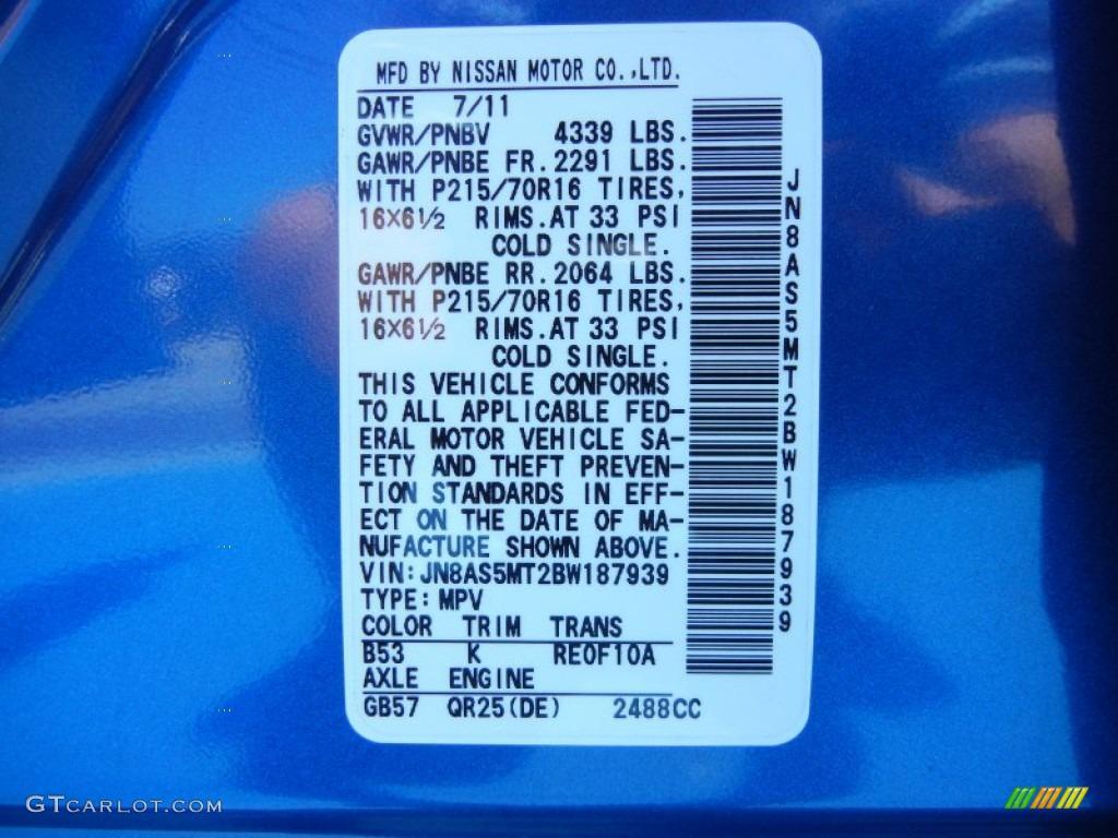 2011 Nissan Rogue S Color Code Photos Gtcarlot Com