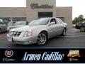 Radiant Silver Metallic 2011 Cadillac DTS Platinum