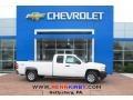 Summit White 2013 Chevrolet Silverado 1500 Work Truck Extended Cab 4x4