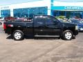 2011 Black Chevrolet Silverado 1500 LTZ Extended Cab 4x4  photo #1